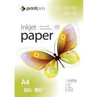 Arsej papier fotograficzny matowy a4 190 g/m 50 szt marki Printpro