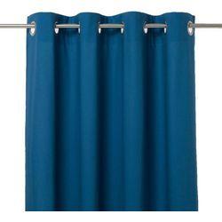 Goodhome Zasłona hiva 140 x 260 cm niebieska (3663602684237)
