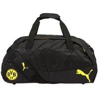 Puma BVB PERFORMANCE MEDIUM Torba sportowa cyber yellow/black