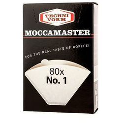 Moccamaster - filtry papierowe nr 1