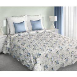 My Best Home narzuta na pościel JENIFER niebieskie kwiaty, 220 x 240 cm