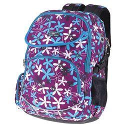 Plecak szkolno-sportowy SPOKEY 837989 Fioletowy (5901180379892)