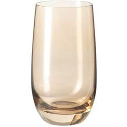 Szklanka wysoka colori brązowa (018041) marki Leonardo