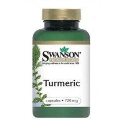 Turmeric 720mg 100kaps. SWANSON, produkt z kategorii- Pozostałe leki chorób układu pokarmowego