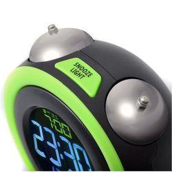 Gotie Budzik elektroniczny GOTIE GBE-300Z, kolor zielony