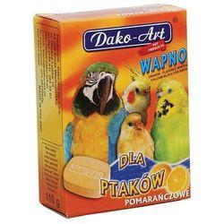 Dako-art  wapno pomarańczowe dla ptaków 2szt.