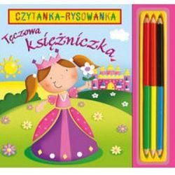 Tęczowa księżniczka. Czytanka rysowanka (ISBN 9788371677410)