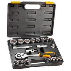 Zestaw kluczy nasadowych TOPEX 1/2 cala 38D642 (21 elementów) + DARMOWY TRANSPORT! (5902062386427)