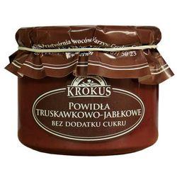 Powidła Truskawka-Jabłko Bez Cukru 310g - Krokus - produkt z kategorii- Dżemy i konfitury