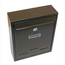 Skrzynka pocztowa jak mały brązowy 310x260x90mm