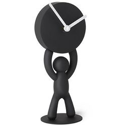 - zegar stojący, czarny, buddy marki Umbra