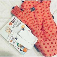 Love&carry Nosidełko ergonomiczne  - dlight - różowe gwiazdki