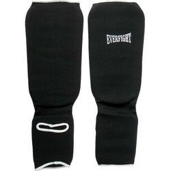 Ochraniacz goleń stopa bawełna L black - produkt z kategorii- Ochraniacze i kaski do sportów walki