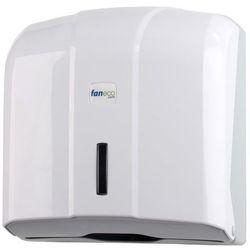 Pojemnik na ręczniki papierowe składane pop  plastik biały od producenta Faneco
