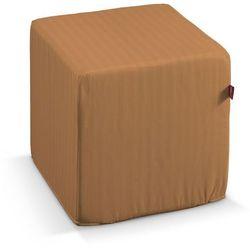 Dekoria pufa kostka twarda, zgaszony ceglany, 40 × 40 × 40 cm, wyprzedaż do -50%