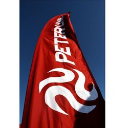 Peter lynn Czerwona flaga z logo