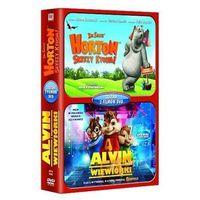 Horton słyszy Ktosia / Alvin i wiewiórki - zestaw (2xDVD) - Imperial CinePix