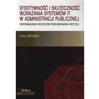 Efektywność i skuteczność wdrażania systemów IT w administracji publicznej, CeDeWu
