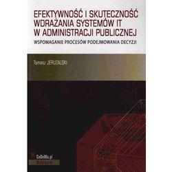 Efektywność i skuteczność wdrażania systemów IT w administracji publicznej (CeDeWu)