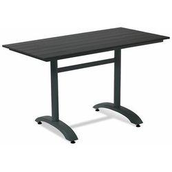 Aj Prostokątny stół kawiarniany 1200x700 mm czarny