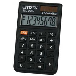 Kalkulator kieszonkowy Citizen SLD-200 - ★ Rabaty ★ Porady ★ Hurt ★ Autoryzowana dystrybucja ★ Szybka dostawa ★ (4562195133339)