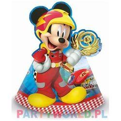 Czapeczki urodzinowe Myszka Mickey i Raźni Rajdowcy - 6 szt., CZPAP/9474-5