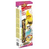 Vitapol Smakers Long mix 3 smaki owoce tropikalne/z czarnuszką/jajeczno-miodowy dla papużki falistej i nimfy