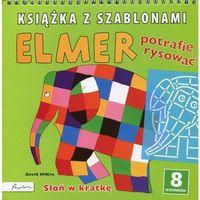 Elmer Książka z szablonami Potrafię rysować (2015)