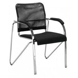 Krzesło SAMBA net - do poczekalni i sal konferencyjnych, konferencyjne, na nogach, stacjonarne, SAMBA NET