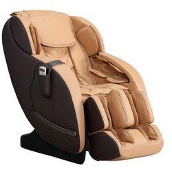 Fotel do masażu neree — system zero grawitacji — kolor karmelowy marki Vente-unique.pl