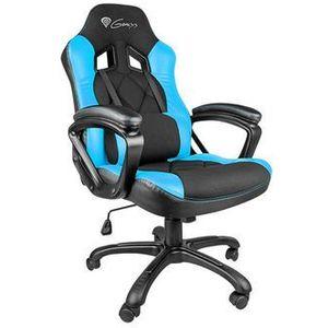 Fotel GENESIS SX33 Gaming Chair Czarno-niebieski + Zamów z DOSTAWĄ JUTRO! + DARMOWY TRANSPORT!, NFG-0782