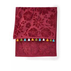 Ręczniki z kolorowymi chwostami (2 szt.) bonprix czerwony