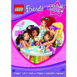 LEGO Friends. Części 1-3. DVD (film)
