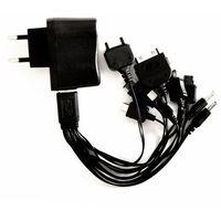 ŁADOWARKA SIECIOWA USB + 10 koń.mp3,GPS, iphone,