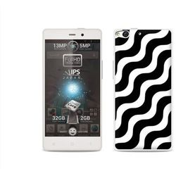 Etuo.pl Fantastic case - allview x1 soul - etui na telefon fantastic case - biało-czarna fala