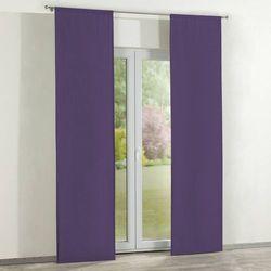 zasłony panelowe 2 szt., fiolet, 60 × 260 cm, jupiter marki Dekoria