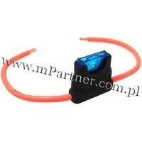Gniazdo bezpiecznika samochodowego płytkowego 3mm2, marki Mpartner