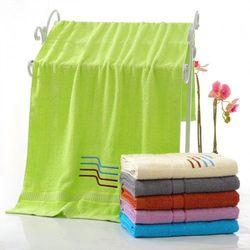 Ręcznik bawełniany - 50x100 - zielony marki Cotton world