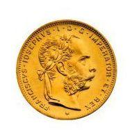 8 Złotych Guldenów Austro-Węgierskich - Złota Moneta