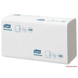 Ręcznik ZZ biały TORK UNIVERSAL H3 SOFT 290158/290157 23x23cm