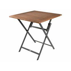 FLORABEST® Stół ogrodowy składany 70 x 70 cm, alumi