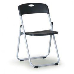 B2b partner Składane krzesło clack 3+1 gratis, czarne