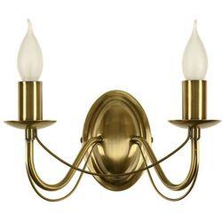 Candellux Oprawa lampa ścienna muza 2x40w e14 patyna 22-69156