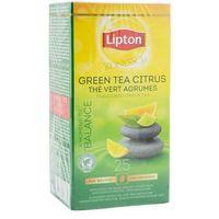Zielona herbata  classic green tea citrus 25 kopert marki Lipton