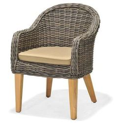 Fotel z drewna tekowego guam od producenta Scancom
