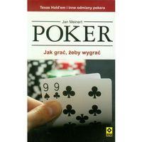 Poker. Jak grać żeby wygrać + zakładka do książki GRATIS, Jan Meinert