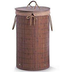 Bambusowy kosz na pranie, 55 litrów, kolor ciemnobrązowy, ZELLER (4003368134116)
