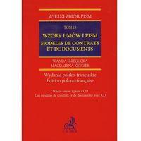 Wzory umów i pism Modeles de contrats et de documents tom 13 + CD