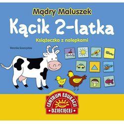 Mądry Maluszek Kącik 2-latka Książeczka z nalepkami, książka z kategorii Encyklopedie i słowniki