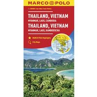 MARCO POLO Kontinentalkarte Thailand, Vietnam, Laos, Kambodscha 1:2 000 000